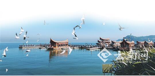 美丽迷人的古滇名城码头