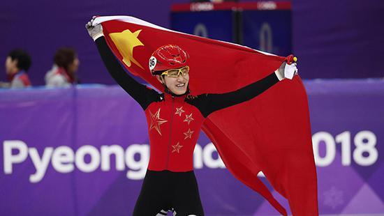 2018平昌冬奥会短道速滑女子1500米决赛,李靳宇获银牌。