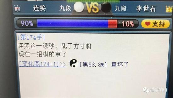 胡耀宇:李世石黑163 超越了AI胜率的定义!