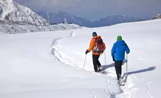 迷路后,最好结伴而走。图片来源:indiahikes.com