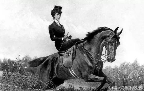 骑马不能劈开腿!揭秘欧洲早期女性如何优雅骑