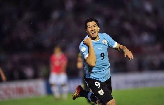 乌拉圭球星苏亚雷斯