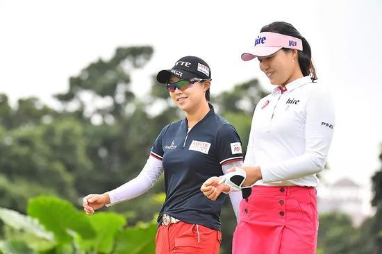 韩国女子选手人才辈出