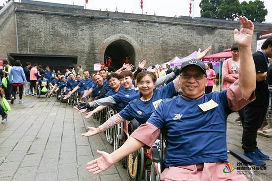 2017西安城墙国际马拉松赛