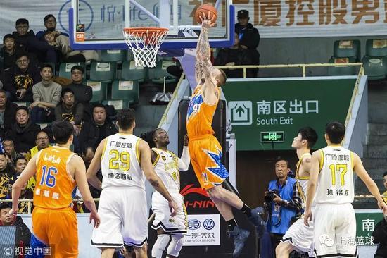 天津帮上海留住季后赛希望 剩余比赛再无退路