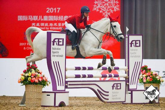 骑手、马匹的默契配合尽显马术运动的魅力