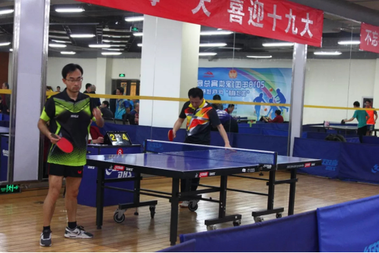 全民健身国球先行 国球杯乒乓球系列赛谭瑞午助