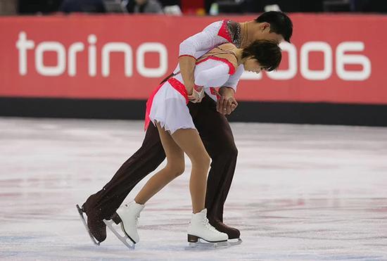 张丹受伤后重返赛场。