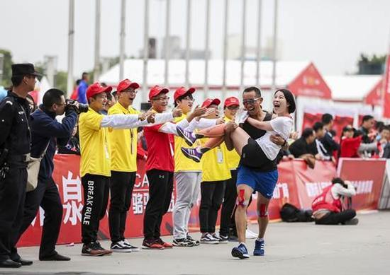 2017襄阳马拉松赛