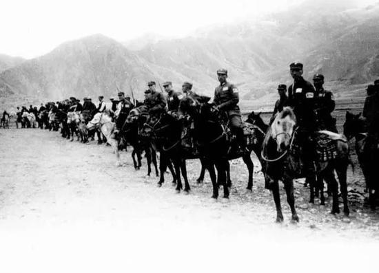 1937年时的中华民国国民革命军骑兵部队