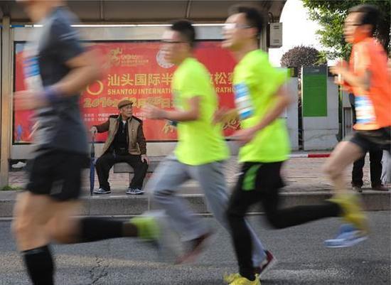 2017汕头国际半程马拉松