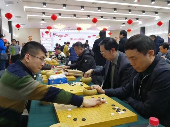 茶话手谈共迎春 2018首都围棋界新春团拜会话改革