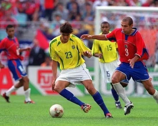 2002世界杯,当时20岁的卡卡