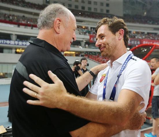 图说:博阿斯和斯科拉里在2017赛季中超、足协杯和亚冠的6次斗法,堪称经典。