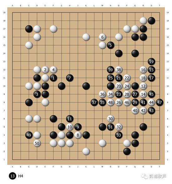 加藤正夫名局18 第6届中日擂台赛胜聂卫平成终结者
