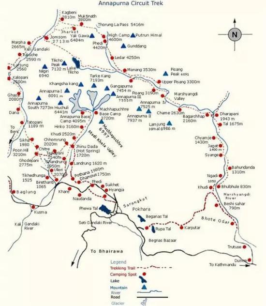 尼泊尔·安娜普尔纳大环线