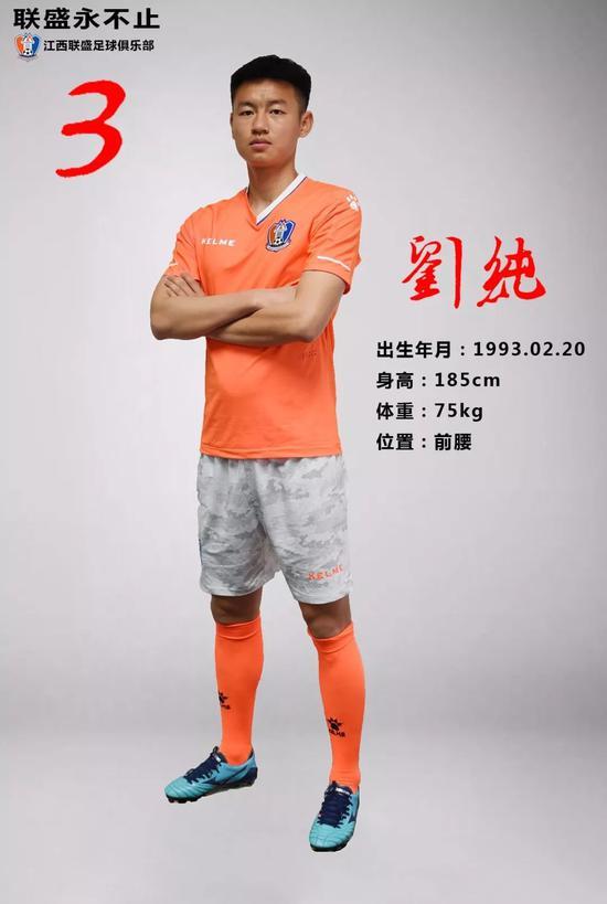 3号刘纯 河南籍球员,上赛季效力于成都钱宝队。