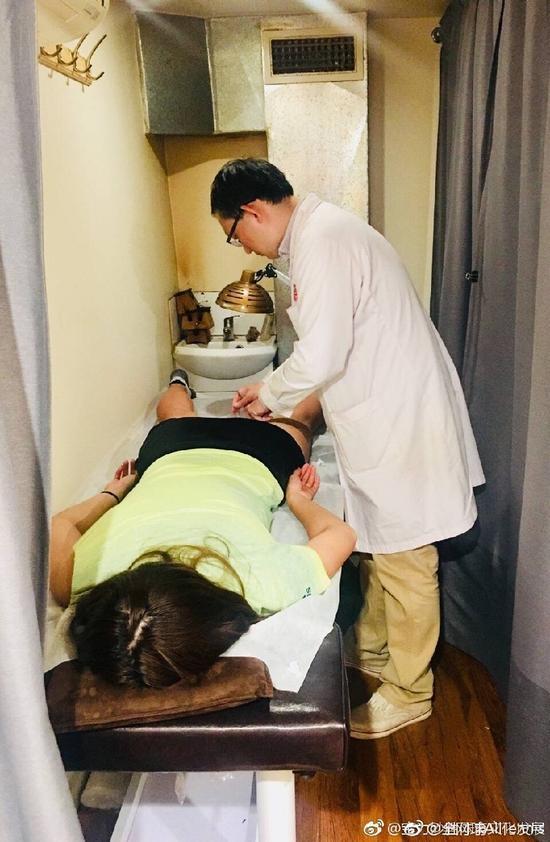 段莹莹透露澳网前大腿受伤 医生建议休养五天