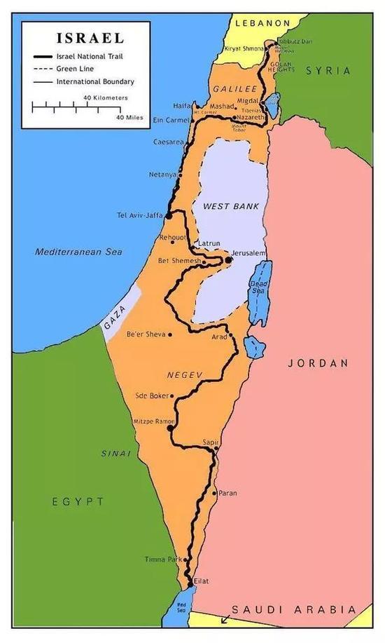 以色列国家步道