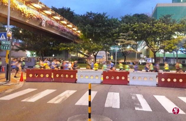nba外围网|马拉松赛封路7小时引发埋怨 车辆进出不得