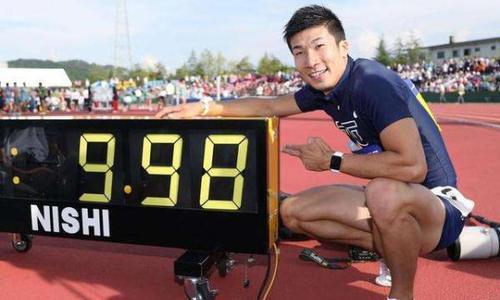 日本短跑天才是中国百米最大劲敌