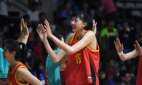 中国女篮终结对日本5年不胜