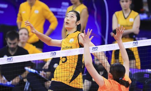 """朱婷""""反戈""""立现差距 中国排球俱乐部缺乏竞争力"""