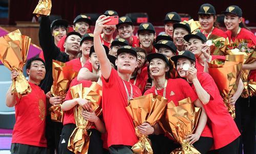 北京女排夺冠 关键人物给力