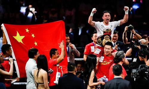 中国拳击不胜日本的历史结束