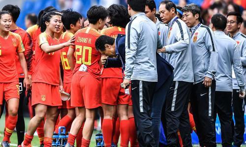 中国女足不需要眼泪,要快乐