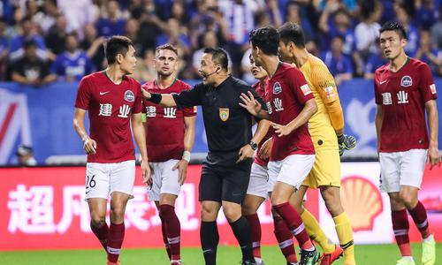 上海申花的防守问题还没解决
