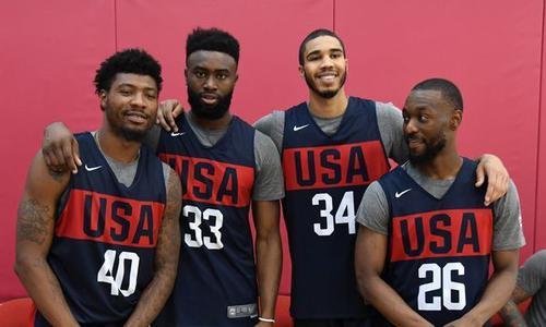 上海赛区准备好了 美国队呢?