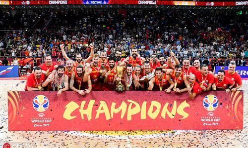 1994年输给过中国队的西班牙 拿了二个世界冠军