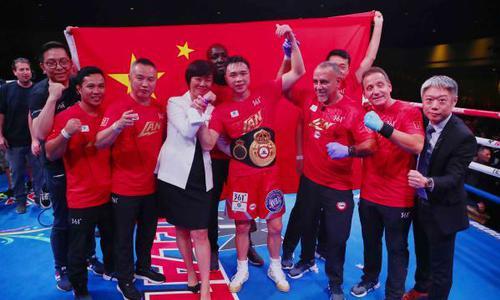 中国拳王徐灿给出了最完美的答卷