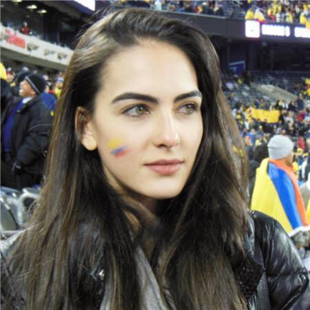 哥倫比亞模特球迷