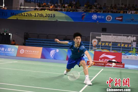 翁泓阳为国羽赢得本站唯一一冠