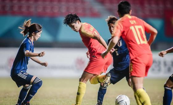 [亚运会]中国女足0-1日本获银牌