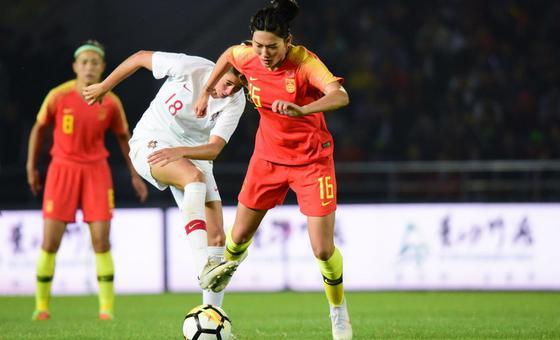 女足四国赛中国0-0葡萄牙