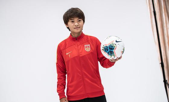 新一期中国女足官方写真拍摄花絮