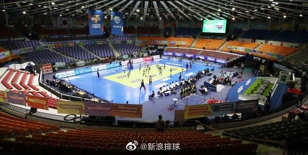韩国排球联赛将中断