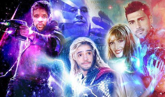 中超球星化身復聯超級英雄是什么樣?