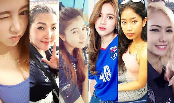 百艷圖!全泰國最美小姐姐都來看球了 不美算我輸