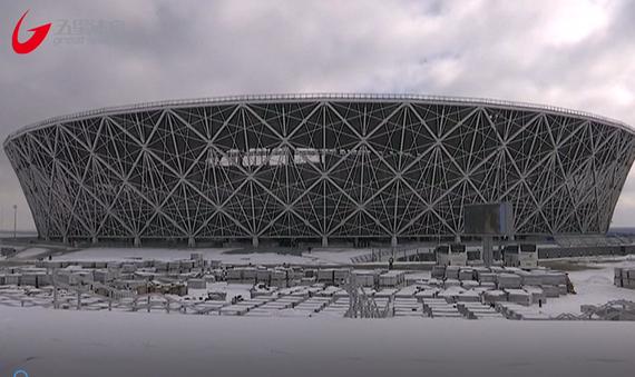 视频-世界杯临近!国际足联考察伏尔加格勒体育场