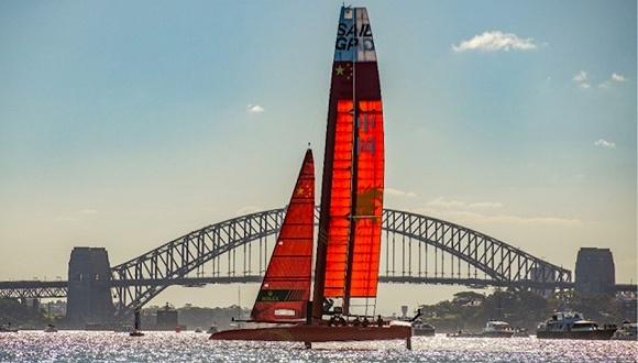 图片来源:Sail GP