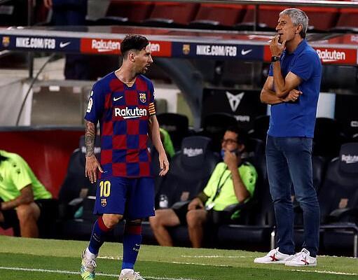 塞蒂恩:对教练来说 梅西是个难以执教的球员