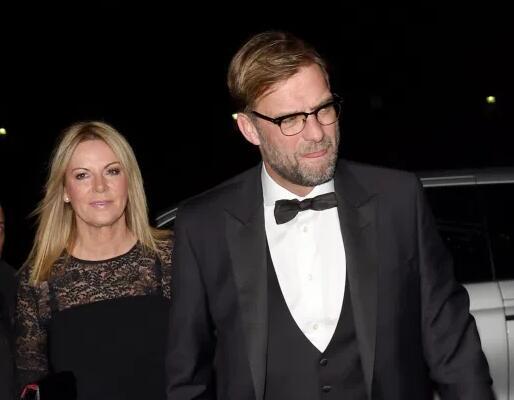克洛普与妻子