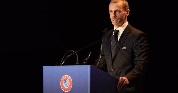 欧足联官方宣布切费林连任欧足联主席至2023年