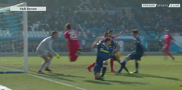 认定为犯规,所以吹失踪斯帕尔进球,改判给佛罗伦萨点球