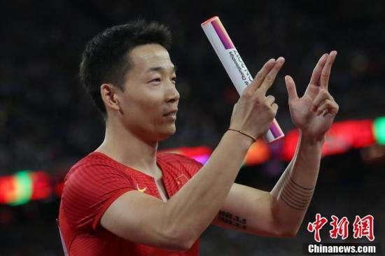 资料图:中国新生代飞人吴智强