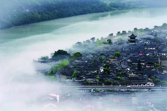决赛地点阆中古城 图片来源:阆中文旅